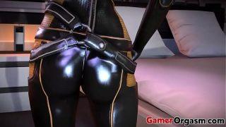 GamerOrgasm.com | 3D Futanari Miranda Lawson's Ass Mass Effect