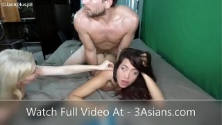 Her eyes rolling from hard anal fuck!!