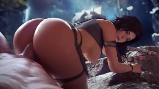 Lara croft giant ass hentai