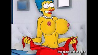 Simpsons hentai parody sex