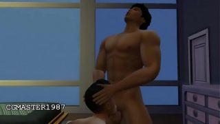 CG/Sims – Muscle fucking young latin