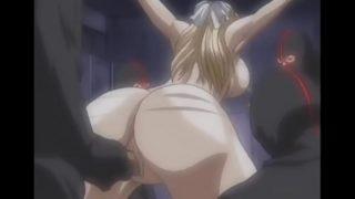 Masked men staged a gang bang blonde – Uncensored Hentai